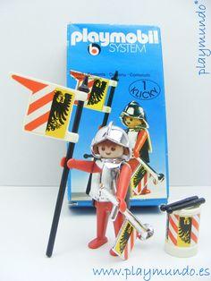 PLAYMOBIL 3380 SOLDADO MEDIEVAL (AÑO 1977 - 1980) http://www.playmundo.es/playmobil-3380-soldado-medieval-ano-1977---1980-11969-p.asp