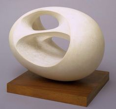 Oval Sculpture #2 - Barbara Hepworth