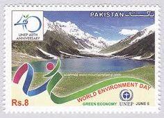 Pakistan Stamp - World Environment Day