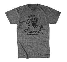 Geek TShirt Funny Cartoon Boys T Shirt Cotton Tee por Geekstertees, $15.99