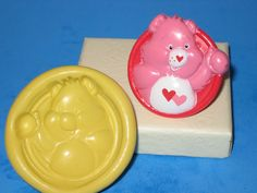 Care Bear Silicone Push Mold Mould Resin Clay Candy A440 Soap #LobsterTailMolds