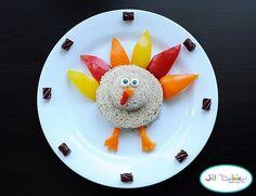 turkey shaped sandwich