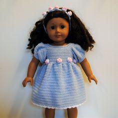 Instant Download PDF Crochet Pattern American Girl von tildafilur
