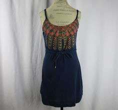 Marc By Marc Jacobs Blue Blouse Size S Tribal Hippie Casual Cotton #MarcbyMarcJacobs #Blouse #Casual