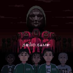 Squid Game Wallpaper Pixel Art
