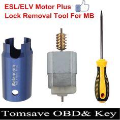 Free Shipping High Quality New ELV ESL Steering Lock Tool Wheel Motor For C180, C200, E200, E260, E300, E350 GLK300 GLK350
