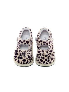 Leopard Bow Mary Jane by Jack and Lily Footwear at Gilt