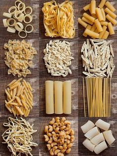 Sorting, and then later creating patterns with pasta.