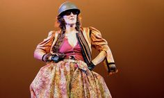 Fiona Shaw as Mother Courage at the National