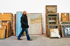 An inspiring article from Chicago Magazine  Photo: Theaster Gates in his Grand Crossing warehouse and studio