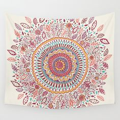 Buy Sunflower Mandala by Janet Broxon as a high quality Wall Tapestry. Worldwide shipping available at Society6.com. Just one of millions of products…