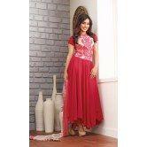 red-printed-georgette-anarkali-salwar-suit-by-fabfiza