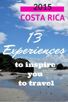 13 Amazing Things to Do in Costa Rica. Swimming in a waterfall, taking a mineral-rich mud bath & More: http://www.twoweeksincostarica.com/costa-rica-travel-inspiration/ #CostaRica #vacation