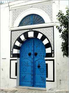Sidi Bou Said, Tunisia...one day I will go back!