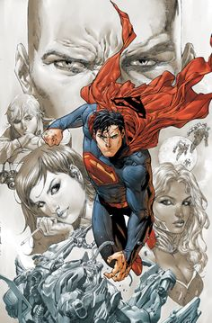 ACTION COMICS #18 - Art by TONY S. DANIEL and BATT / Cover by TONY S. DANIEL