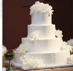 05132012 – White Wedding Cake 05132012 - White Wedding Cake – The Knot
