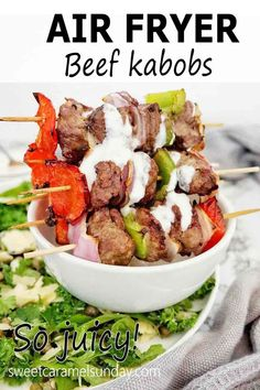 Side Dish Recipes, Dinner Recipes, Beef Skewers, Herb Salad, Fried Beef, Cooking Instructions, Healthy Recipes, Savoury Recipes, Easy Recipes
