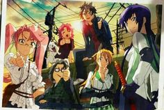 High school of the dead ~ possibly my favorite horror anime