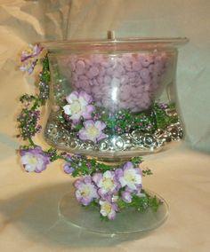 A wedding idea from pink Zebra.                Www.pinkzebrahome.com/sweetsmell