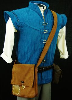 Adult Flynn Rider Vest Costume Custom Made by NeverbugCreations, $600.00