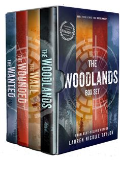 The Woodlands Series Box Set Lauren Nicolle Taylor Published by: Clean Teen Publishing Publication date: August 2017 Genres: Dystopian, Romance, Young Adult Do you dare enter the Woodlands? Book Nerd, Book 1, Lone Survivor, Woodland, My Books, Cleaning, Box, Book Lovers, Cover