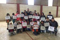 """El proyecto """"Combidar"""" llegó a Jalpan de Serra y brindó talleres artísticos y culturales a niños de 6 a 12..."""