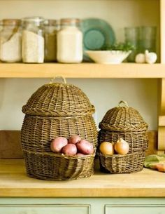 Potato and Onion Storage Baskets: Gardener's supply.
