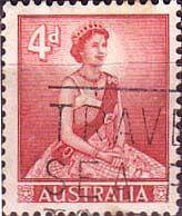 Stamp Stamps Australia 1959 SG 313 Lisenden Queen Elizabeth Fine Used SG 313 Scott 318 Australian Vintage, Commonwealth, Queen Elizabeth, Postage Stamps, Type 1, Baseball Cards, Federal, Stamps