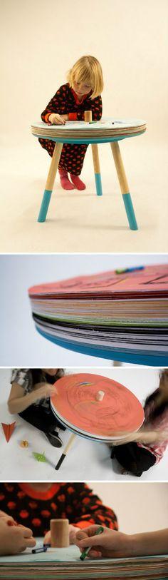 estocolmo, papers table