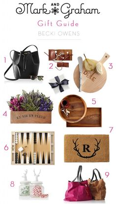 Mark and Graham Gift Guide on the blog now.