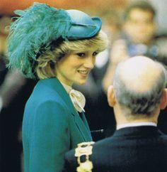 November 1, 1983: Princess Diana opens the North Wing at London Chest hospital, Bethnall Green.