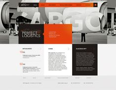 ATC Cargo web design for MUG by Pawel Rebisz
