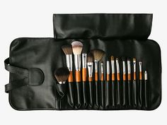 Vanity Planet 15pc Palette Professional Makeup Brush Collection
