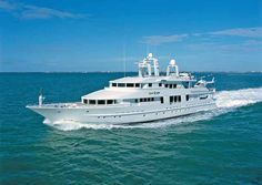 """Motor Yacht Starship - beautiful inlaid wood and marble floors make this one """"pop""""!"""