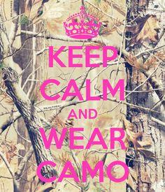 KEEP CALM AND WEAR