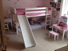 Childrens Cabin Bed With Slide   eBay