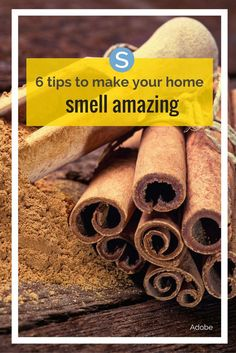 DIY ideas to make your home smell amazing!
