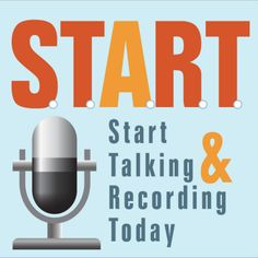 This is my newest venture. Start Talking and Recording Today is a podcast for those interested in starting a podcast but are on the fence. What are you waiting for? START podcasting now!