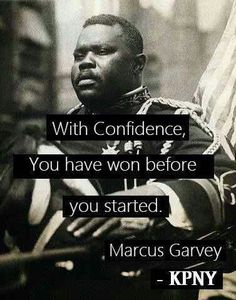 Marcus Garvey is the man in this photo.  He was most popular black nationalist leader of the early twentieth century. And the founder of the United Negro Improvement Association (UNIA).A Jamaican immigrant, Garvey rose to prominence as a soapbox orator in Harlem, New York. I chose this photo because it shows his power and confidence as a leader.
