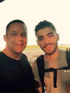 Zaynie and his bodyguard Preston recently One Direction Concert, I Love Him, My Love, Midnight Memories, Dear Future Husband, Love Deeply, Zayn Malik, Liam Payne, Good Looking Men