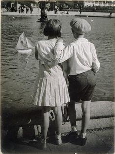 bassin-du-luxembourg-1930- Brassaï