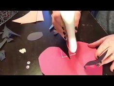 Paper Heart Ladybug