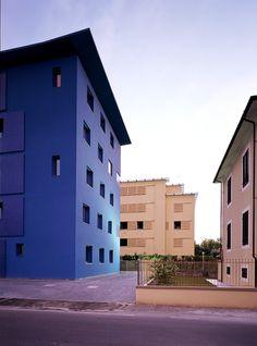 Pietro Carlo Pellegrini, Mario Ciampi · Edificio Blu