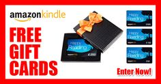 Great opportunity to fuel your Kindle reading addiction by winning a monthly $900 in Kindle gift cards. Check it out :) #KindleGiftCards