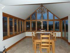 oak conservatory interior design - Google Search