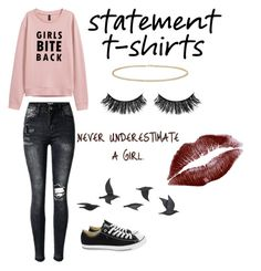"""""""Girl"""" by megannaffolter ❤ liked on Polyvore featuring Converse, Jayson Home, Anne Sisteron and Battington"""