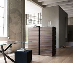 Shop the Nine Chest Of Drawers and more contemporary furniture designs by Lema at Haute Living. Contemporary Chest Of Drawers, Contemporary Furniture, Office Furniture, Furniture Decor, Bedroom Closet Design, Drawer Unit, Slow Living, Modern Materials, Clean Design