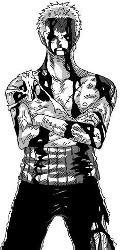 One Piece Roronoa Zoro by - anime Roronoa Zoro, Manga Tattoo, Anime Tattoos, Tatoos, Zoro One Piece, One Piece Fanart, Tatuagem One Piece, One Piece Deviantart, Truth Tattoo