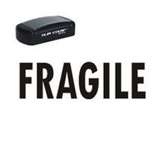 """Need rubber stamps for mailing? Order the Fragile stamp to easily show a package is breakable. Order the """"FRAGILE"""" Stamp online from Acorn Sales. Office Stamps, The Fragile, Ink Stamps, Ink Color, Get One, Are You The One, Slim"""