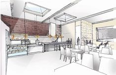 Breadbox Cafe by ODA architecture